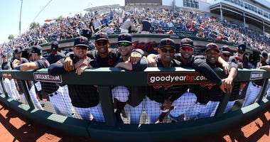Cleveland Indians in Spring Training