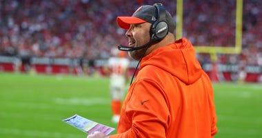 Cleveland Browns head coach Freddie Kitchens