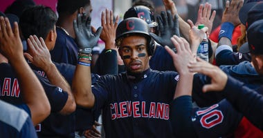 Indians shortstop Francisco Lindor