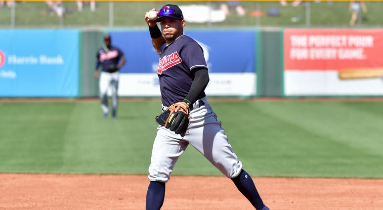 Indians shortstop Francisco Lindor
