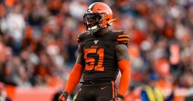 Browns linebacker Mack Wilson