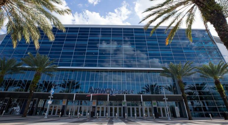 Amway Center in Orlando, Florida
