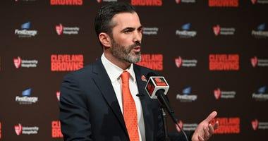Browns head coach Kevin Stefanski