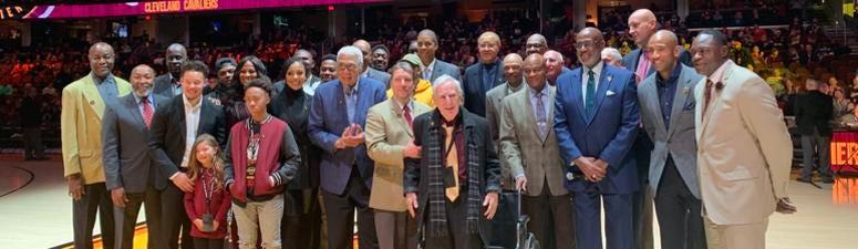 Cavaliers inaugural Wall of Honor Class