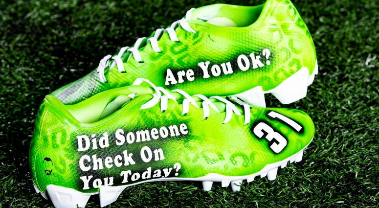 Juston Burris Dream the Impossible cleats