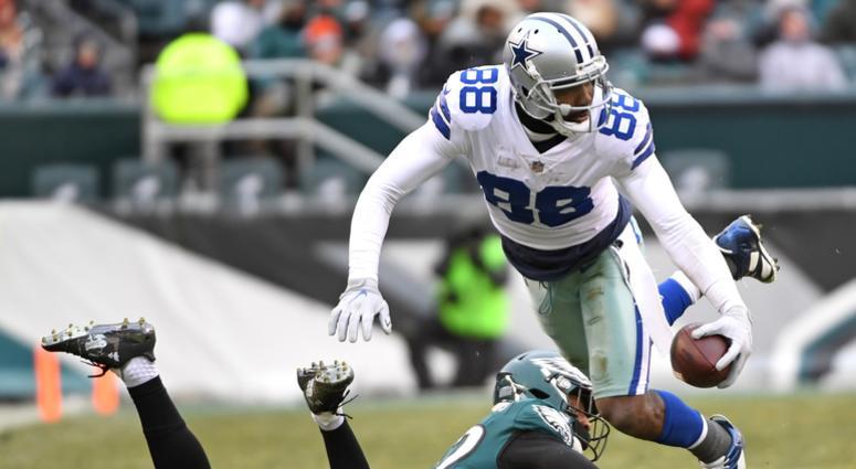 Dallas Cowboys wide receiver Dez Bryant (88) moves past Philadelphia Eagles cornerback Rasul Douglas (32) during the second half at Lincoln Financial Field.