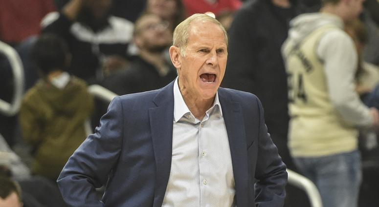 Oct 28, 2019; Milwaukee, WI, USA; Cleveland Cavaliers head coach John Beilein calls a play in the second quarter during the game against the Milwaukee Bucks at Fiserv Forum. Mandatory Credit: Benny Sieu-USA TODAY Sports