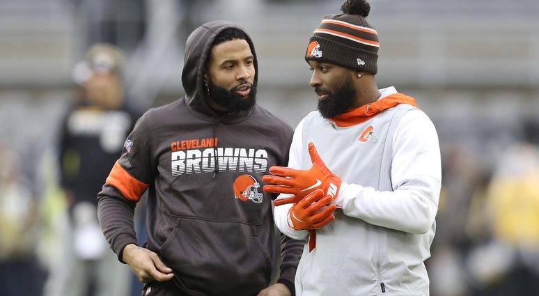 Jarvis Landry Odell Beckham Jr. Cleveland Browns Pittsburgh Steelers