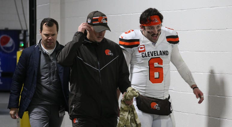 Baker Mayfield Cleveland Browns Pittsburgh Steelers
