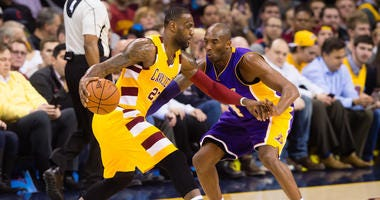Kobe Bryant Los Angeles Lakers LeBron James Cleveland Cavaliers