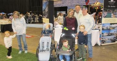 Andy Baskin at the Progressive Cleveland Boat Show & Fishing Expo presented by Fisherman's Central
