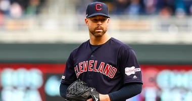Cleveland Indians pitcher Corey Kluber