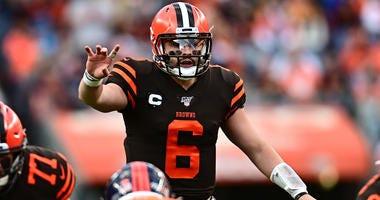 Cleveland Browns quarterback Baker Mayfield (6)