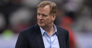 NFL commissioner Roger Goodell attends the NFL International Series game between the Kansas City Chiefs and the Los Angeles Chargers at Estadio Azteca.