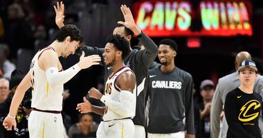 Cavs point guard Darius Garland