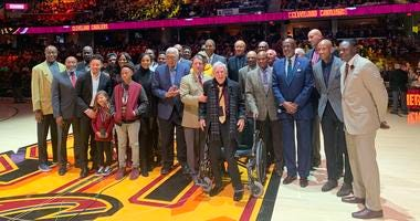 Cavaliers inaugural Wall of Honor Class