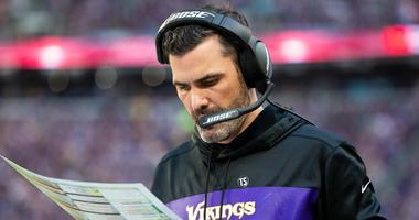 Vikings offensive coordinator Kevin Stefanski