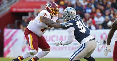 Left tackle Trent Williams