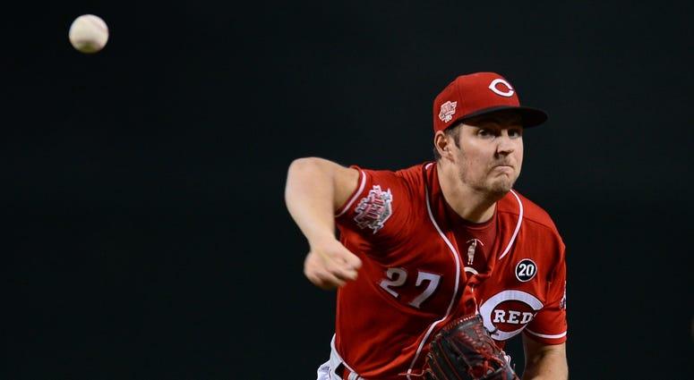 Reds pitcher Trevor Bauer