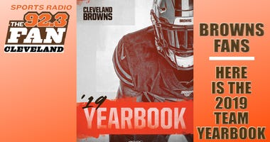 Browns 2019 yearbook