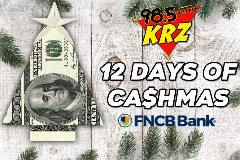 12 Days of Cash-mas