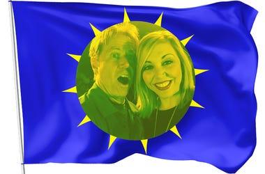 SCRANTON FLAG