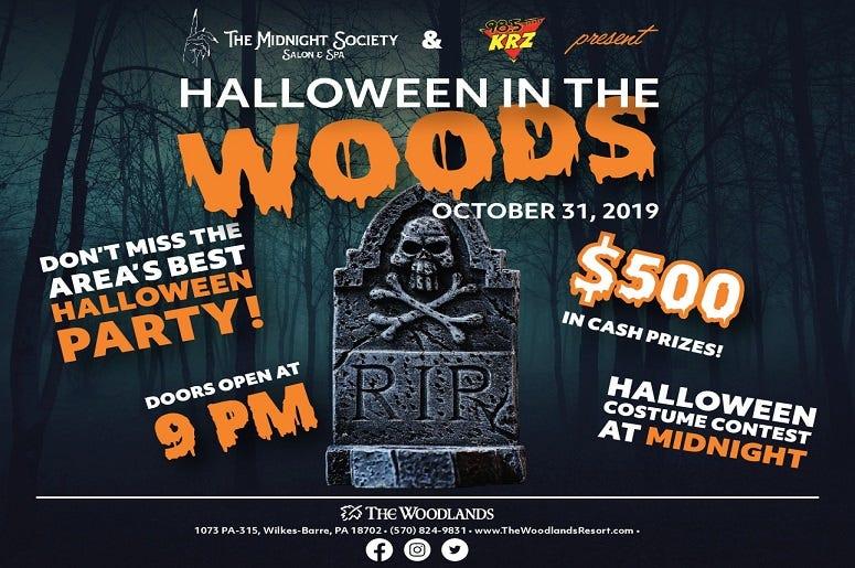 Woodlands Wilkes Barre Halloween 2020 Event: Halloween In The Woods | 98.5 KRZ