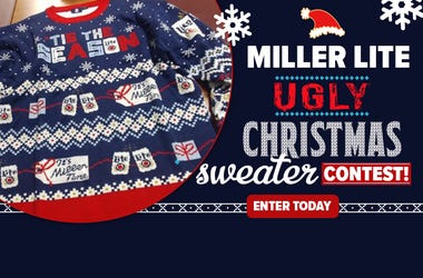 Miller Lite Ugly Christmas Sweater