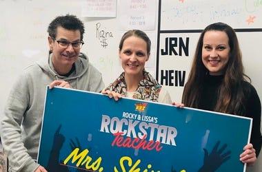 Rockstar Teacher Mrs. Shingler
