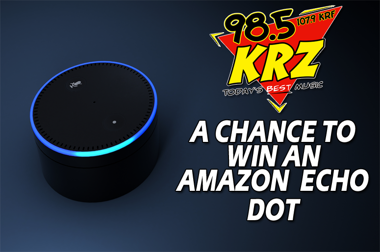 Listen to some music and win an Amazon Echo from KRZ