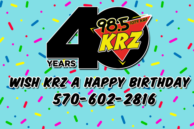40 Years of KRZ Shout Out Line