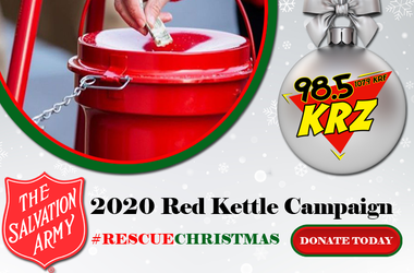 Rescue Christmas Salvation Army WKRZ