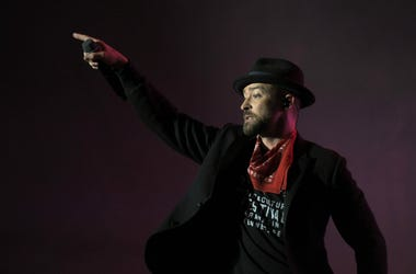 Justin Timberlake performs at Pilgrimage Music & Cultural Festival at The Park at Harlinsdale in Franklin, Tenn.