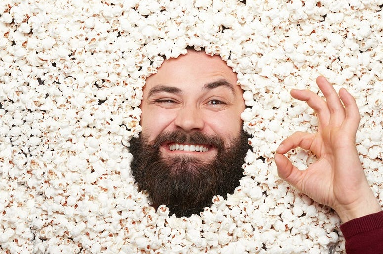 popcorn guy