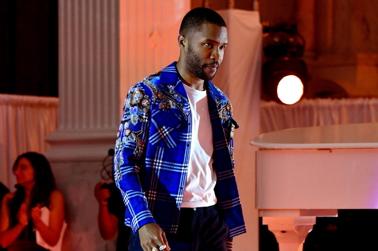 Frank Ocean walks onstage at Inaugural Secret Genius Awards