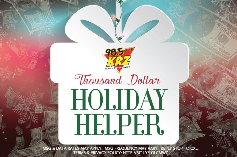 Thousand Dollar Holiday Helper
