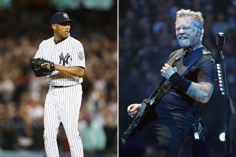 Mariano Rivera x Metallica