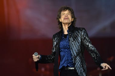Mick Jagger of The Rolling Stones performs live on stage on the opening night of the european leg of their No Filter tour at Croke Park on May 17, 2018