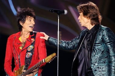 Ronnie Wood, Mick Jagger