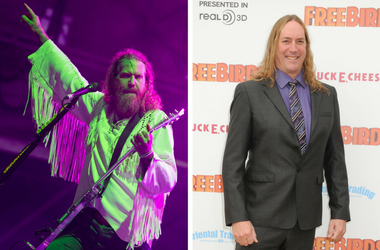 "Brent Hinds of Mastodon performing live on stage at Bloodstock festival on August 13 2016 at Catton Hall, United Kingdom Danny Carey. ""Free Birds"" Los Angeles Premiere held at the Westwood Village Theatre"