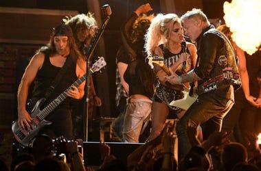 Lady Gaga and Metallica