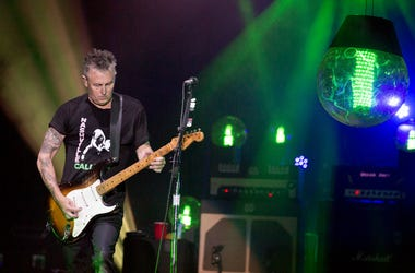 Mike McCready of Pearl Jam at Great Stage Park during Bonnaroo Music and Arts Festival on June 11, 2016,