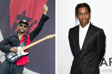 Tom Morello and A$AP Rocky