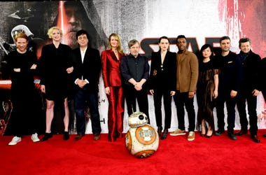 'Star Wars: The Last Jedi' cast