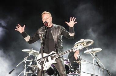 James Hetfield of Metallica In Concert