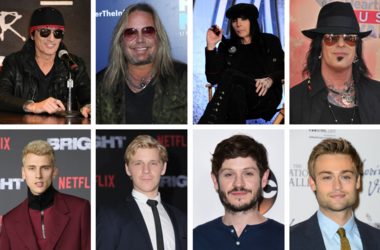 """Motley Crue and the cast of """"The Dirt"""""""