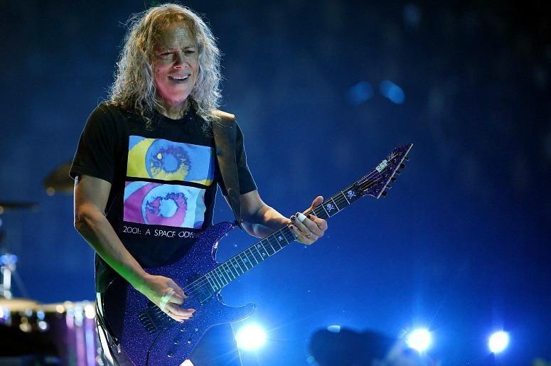 Kirk Hammett of Metallica