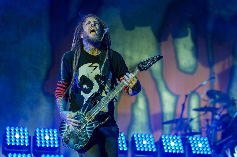 "Brian ""Head"" Welch of Korn"