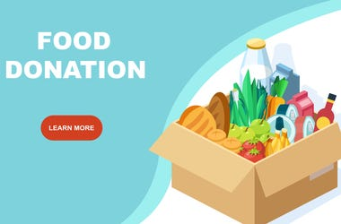 Food Donation Graphic