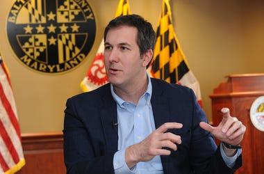Baltimore County Executive Johnny Olszewski